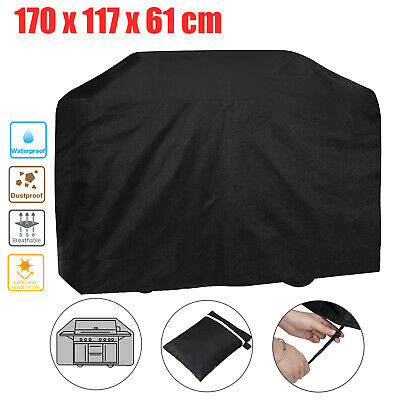 170CM Extra Large BBQ Cover Waterproof Garden Heavy Duty Barbecue Grill