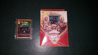 Marvel Trading Card Game X-men vs The Brotherhood starter deck Wolverine
