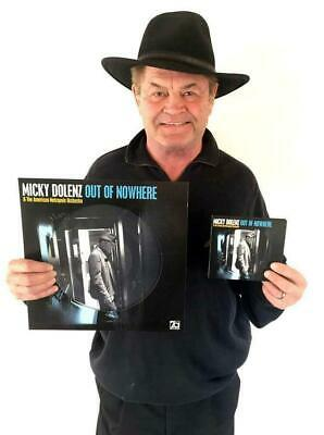 """Micky Dolenz Direct 2U! New """"Out Of Nowhere"""" Cd Signed To You! * The Monkees"""