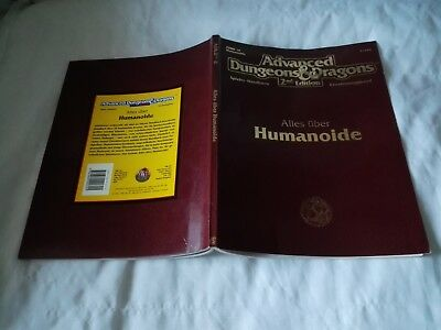 ALLES ÜBER HUMANOIDE AD&D 2nd  ADVANCED DUNGEONS & DRAGONS
