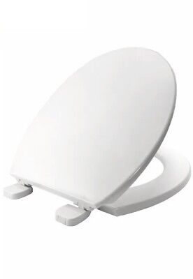 * Bemis Chester STAY TIGHT Toilet Seat Durable Hinges White Bathroom WC 52:23