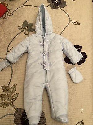 PADDED SUIT BLUE Baby (Ultimo Pezzo)