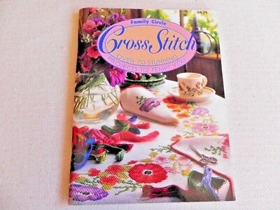 Family Circle Cross Stitch - soft cover book