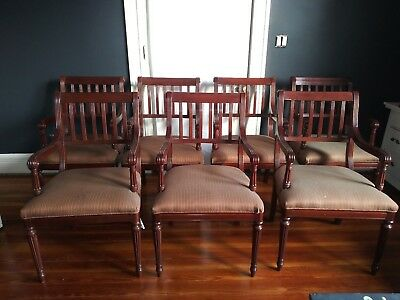 COUNCILL CRAFTSMEN Dining Room Chairs - Estate Find - AS IS condition