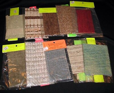 NEW Vintage Mixed Lot Of 10 Dollhouse Miniature Woven Accent Rugs - Set 4