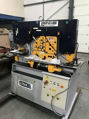 New UZMA 55 ton Double operator 5 station steelworker Price Includes Vat