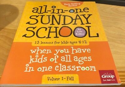 All-in-One Sunday School Volume 1: When you have kids of all ages in one clas…