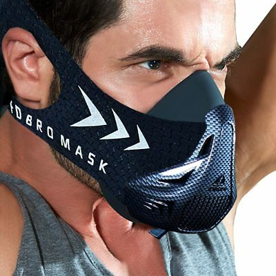 Fitness Weight-lifting Strength Muscle Training Workout Running Cardio Mask New
