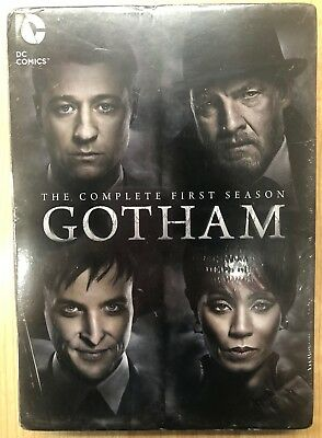 Gotham: The Complete First 1st Season (DVD, 2015) 6-Disc New Sealed FREE SHIP