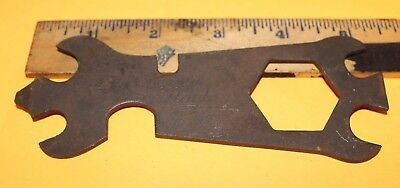 Vintage Maytag Script Antique Hit and Miss Engine Wrench Multi Tool Free S/H