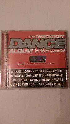 The Greatest Dance Album in the World - Various Artists (CD)