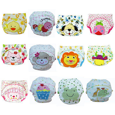Boy Baby Training Cloth Diaper Pants Infant Toddlers Underwear Best KIT