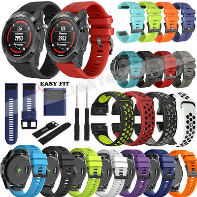 Easy Fit Silicone Band Strap For Garmin Fenix 5 Plus/Forerunner 935/Approach S60