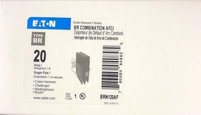 Eaton BRN120AF BR Combination AFCI Circuit Breaker 20 Amp (Replacement BRCAF120)