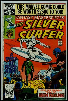 Marvel Comics FANTASY MASTERPIECES #10 SILVER SURFER WARLOCK VFN/NM 9.0