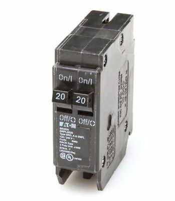 Eaton Bryant Westinghouse BR 20-Amp 1-Pole Tandem Circuit-Breaker Load-Switch