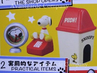 Re-Ment Peanuts Snoopy American Zakka! Practical Items New 100% Real Opened Box