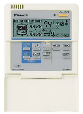 Daikin BRC944B2 Wired Thermostat with Cable, LCD Display, Wired Controller
