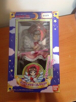 Cardcaptor Sakura Battle Costume CCS Cute Memory Figure - Bandai 1998 NEW SEALED