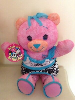 PENNY Doodle Bear Plush Soft Toy can be Written on & Washed - Brand New with Tag