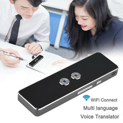 Multi-Language Smart Wireless 2-Way Real Time Instant Voice Translator Portable