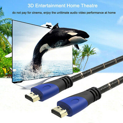 TV Câble HDMI FULL HD V2.0 Haute Vitesse 3D 4K 1080P HD SPEED ULTRA 0.5M 1.5M 3M