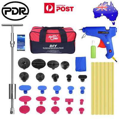 39pc PDR Tools Paintless Dent Removal Puller Lifter Slide Hammer Puller Tap Down