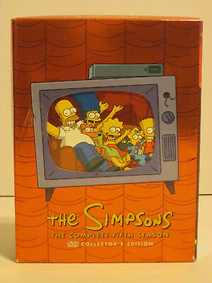 The Simpsons - The Complete Fifth Season 4-Disc DVD Set