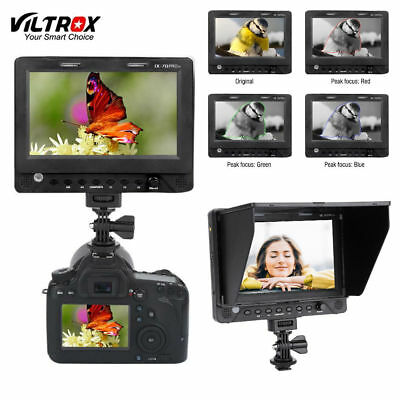 "Viltrox DC-70PRO 4K 7"" Camera Monitor Display SDI/HDMI/AV 1920*1200 for DSLR LJ"