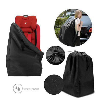 Car Baby Child Safety Seat Travel Bag Dust Cover Travel Bag Portable Black UK