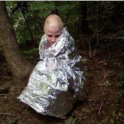 Camping Waterproof Emergency Survival Foil Thermal First Aid Rescue Blanket Mini