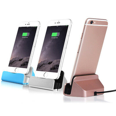 Chargeur Station Dock Bureau Sync Data Charge Stand Support Pr iPhone Samsung