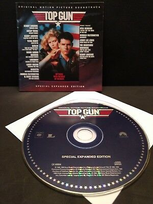 Top Gun Original Motion Picture Soundtrack CD Special Expanded Edition