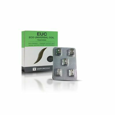 ★★ 5 Résistances Vaporesso EUC TRADITIONAL CLAPTON 0,5 Ohm (Lot de 5) ★★