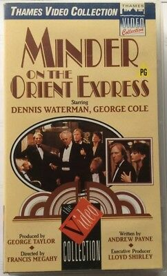 Minder On The Orient Express VHS Video