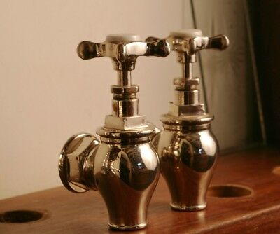 Nickel Plated Globe Taps