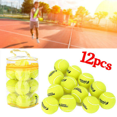 8E28 12pcs USED TENNIS BALLS FOR KIDS, DOGS, BACKYARD GAMES ETC