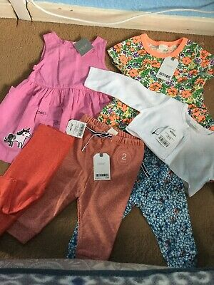 Next Baby Girls Clothes Bundle Brand New With Tags Age 6-9Months
