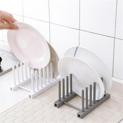 Plastic Kitchen Dish Drainer Rack Holder Stand Plates Drying Storage Tool SO