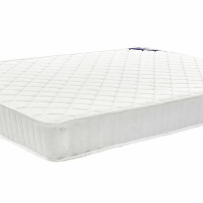 Memory Foam Quilted Sprung Mattress in 3FT Single 4FT 4FT6 Double 5FT King Size