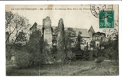 CPA-Carte postale  FRANCE-Assier - Son Château-1914-S4652