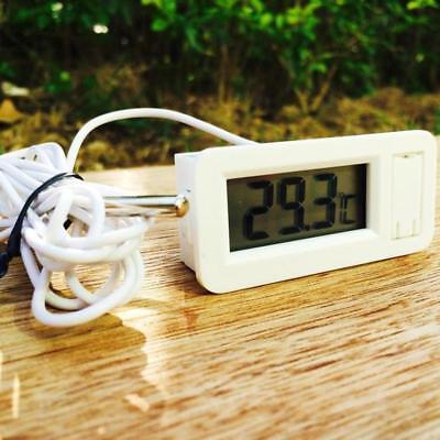 Digital LCD Display Temperature Meter Thermometer Temp Sensor With Probe Indoor