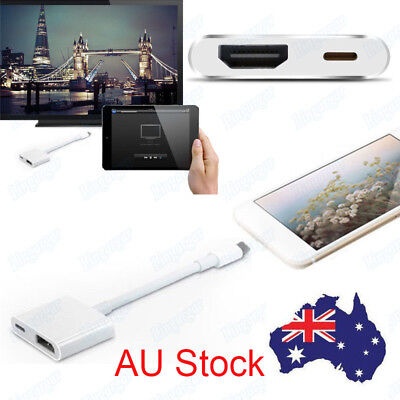For Apple iPhone to HDMI Digital AV TV HDMI HDTV Video Adapter Cable Converter