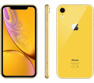 APPLE iPhone XR - 64 GB, Yellow - Currys