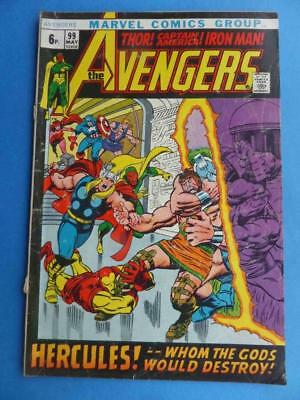 Avengers 99 1972 Classic Barry Smith!