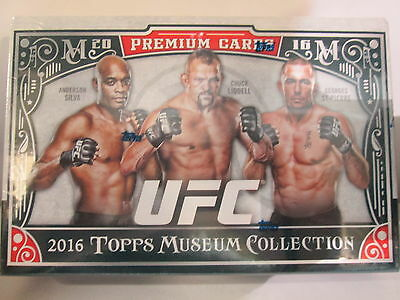 2016 Topps Ufc Museum Collection Sealed Hobby Box!