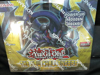 Yugioh The New Challengers 1St Ed Booster Sealed Box