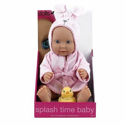 Dolls World Splash Time Baby Girl Doll