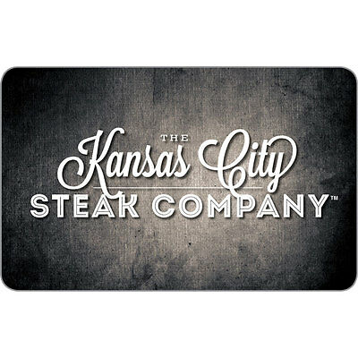 $100 Kansas City Steaks Physical Gift Card For Only $80!! - FREE 1st Class Mail