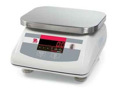 OHAUS Valor® 2000 Compact Bench Scales - V22PWE6T AM, 15 x .002 lb (30035684)